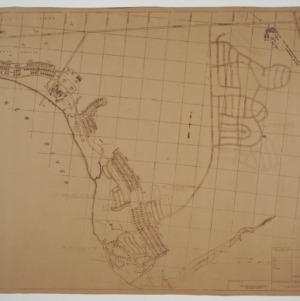 Map, Marine Corps Base, Camp Lejeune, N. C.