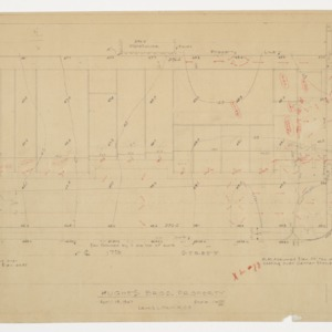 Site Plan, Hughes Brothers Property
