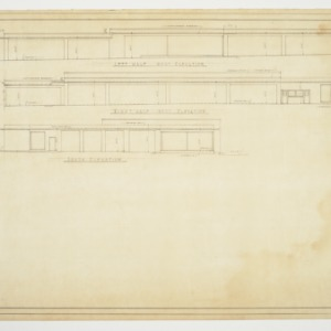 Left Side, Right Side and Rear Elevations