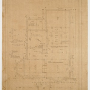 Basement and foundation plan
