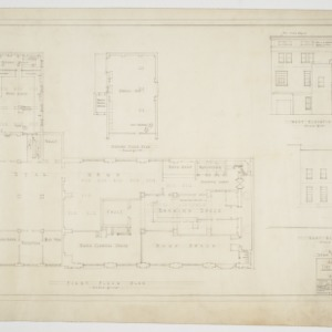 Elevations and floor plans