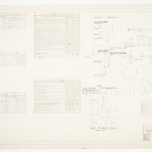 Electrical Schedule and Part Floor Plan