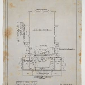 Auditorium Floor Plan