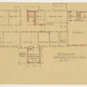 Dosher Memorial Hospital -- Alternate ground floor plan