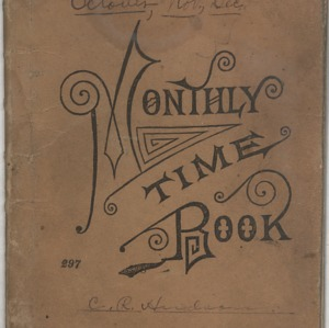 Record of Classes and List of Text Books, 1901-1906
