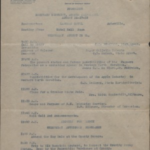Cooperative Extension Papers - Cotton Culture and Farm Plans :: Cassius Rex Hudson Papers