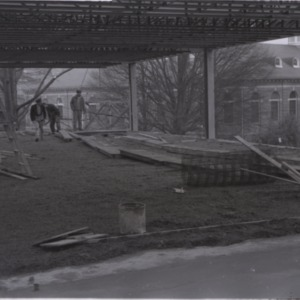 Construction of Brooks Hall Addition No. 1