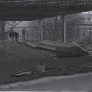 Construction of Brooks Hall Addition No. 1