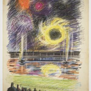 North Carolina State Fairgrounds: Fireworks