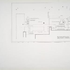 Henry L. and Mabel Kamphoefner Residence -- New Terrace Addition