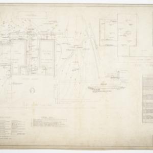Needham B. Broughton Senior High School, Addition - Plot Plan, Roof Plan and Schedules