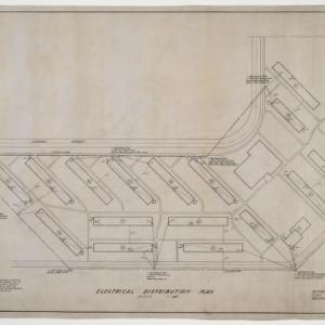 Exterior electrical distribution plan