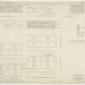Type Y and Z floor plans and elevations