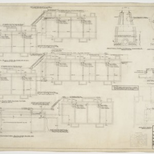 Foundation plumbing and sewer plans