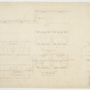Building type Y first and second floor piping plan