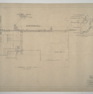 Carolina Country Club - Basement Piping Plan and Detail