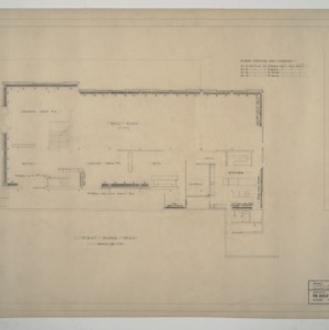 Carolina Country Club - First Floor Plan