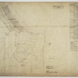 Site plan and material schedules
