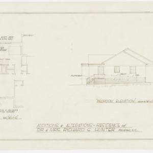 Floor Plan, Elevation