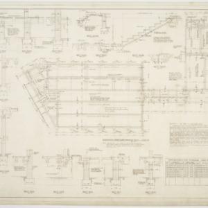Foundation & First Floor Framing Plans, Misc. Details, Area 'B'