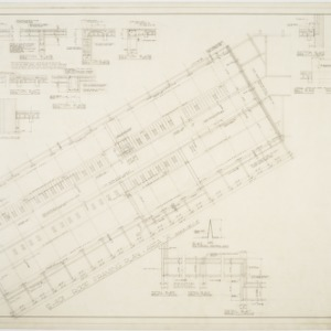 """Roof Framing Plan Area """"A""""; Miscellaneous Details"""