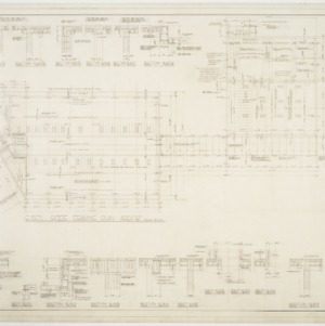 """Roof Framing Plan-Area """"B""""; Miscellaneous Details"""