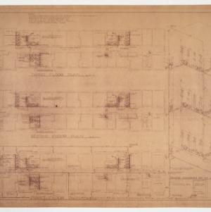 Floor plans and riser diagram