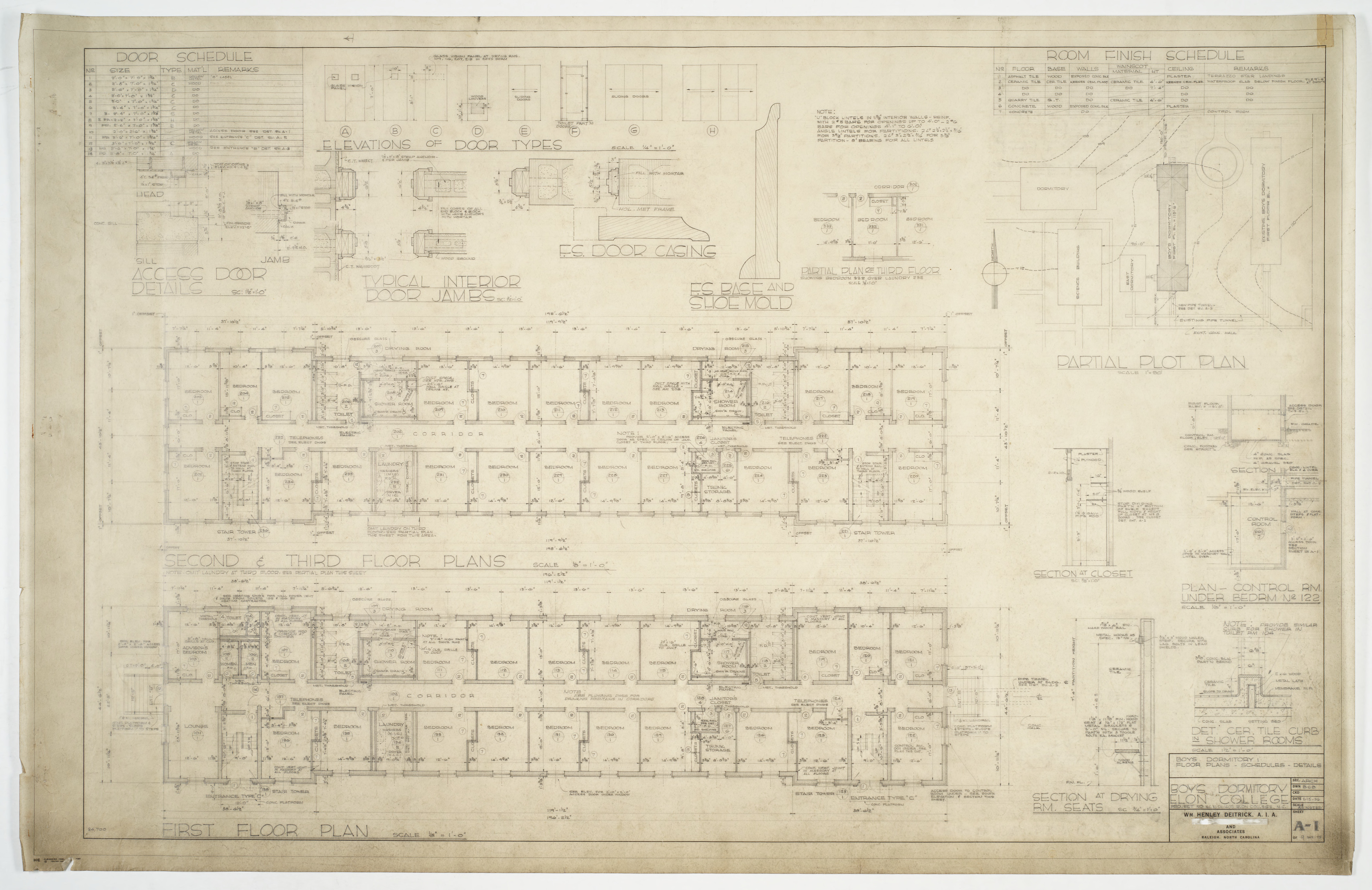 floor plans site plans and finishing details elon