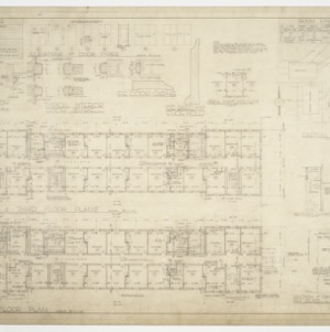 Floor plans, site plans and finishing details