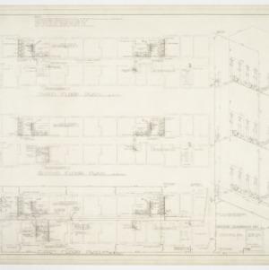Floor plan and riser diagram