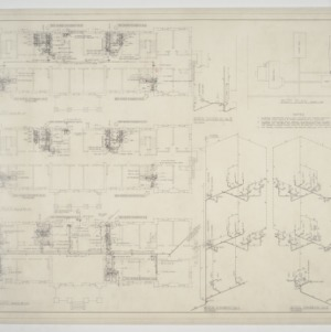 Plumbing and riser plans