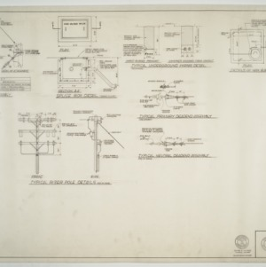 Elon College - Electrical distribution system schedules and details