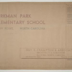 Kirkman Park Elementary School -- Schedule of Drawings