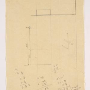 Kirkman Park Elementary School -- Measurement Notes and Diagram