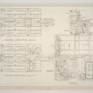 Kirkman Park Elementary School -- Electrical Floor Plans