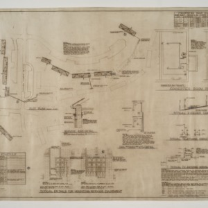 Married Student Housing, University of North Carolina, Chapel Hill -- Electrical - Plot Plan, Service Details, TV Antenna