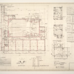 Central School, Addition to -- Floor Plan, and Finish Schedule