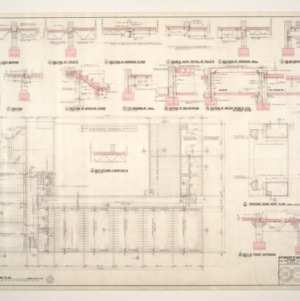 Central School, Addition to -- Floor Framing Plan and Details