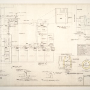 Central School, Addition to -- Plumbing Plan and Details