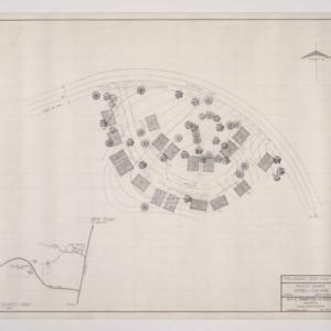 B.N. Duke Library, Faculty Housing -- Preliminary Site Plan