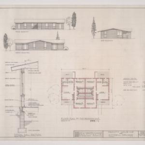 B.N. Duke Library, Faculty Housing -- Details