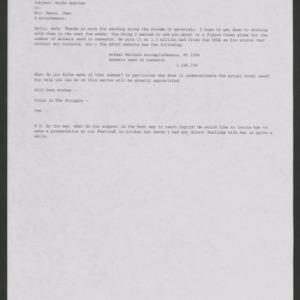 Animal Rights Debate: Correspondence, January-October 2000
