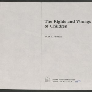 Children, 1983-1991