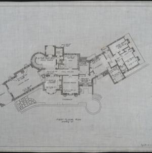 First floor heating plan