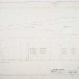 NCSU Armory -- East elevation, west elevation
