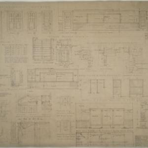 Interior details, Rowan county schools