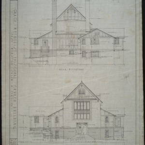 Front and rear elevation