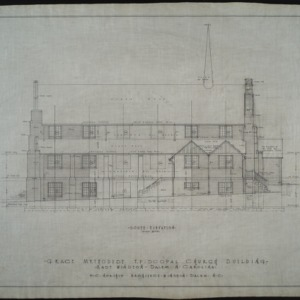 South elevation, revision