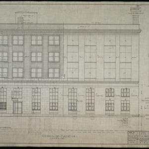 Council Street elevation