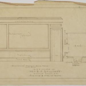 Den plan, interior details
